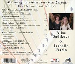 French & Russian Music For Harp:  [Alisa Sadikova; Isabelle Perrin] [Continuo: CC 777.730]