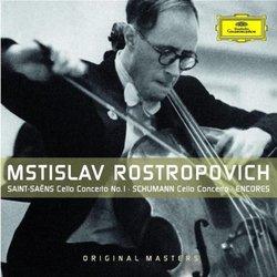 Mstislav Rostropovich: Cello Concertos