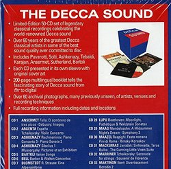 The Decca Sound [50 CD Box Set]