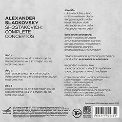 Shostakovich: Complete Concertos - Alexander Sladkovsky