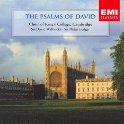 The Psalms of David - Choir of  King's College, Cambridge - Sir David Willcocks, Sir Philip Ledger