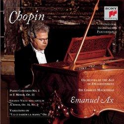 Chopin: Piano Concerto No. 1 in Em/ Variations, Op. 2