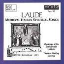 Laude: Medieval Italian Spiritual Songs