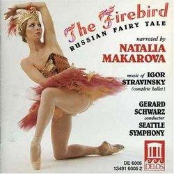 Stravinsky: The Firebird, Russian Fairy Tale (narrated by Natalia Makarova)
