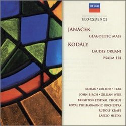 Janacek: Glagolitic Mass/Kodaly: Laudes Organi