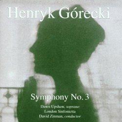 "Henryk Gorecki: Symphony 3 ""Sorrowful Songs"""