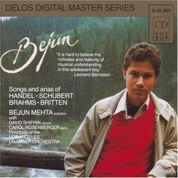 Bejun Mehta - Songs and arias of Handel, Schubert, Brahms, Britten
