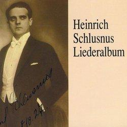 Heinrich Schlusnus Liederalbum