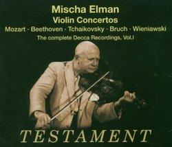 Mischa Elman Plays Violin Concertos