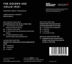 Christoph Heesch: The Golden Age - Cello 1925