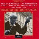 Schoenberg: Violin Concerto, Op. 36 / Prokofiev: Symphony No. 5