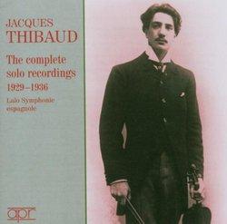 The Complete Solo Recordings, 1929-1936
