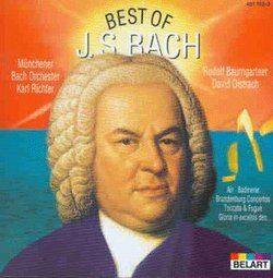 The Best of Bach [Australia]