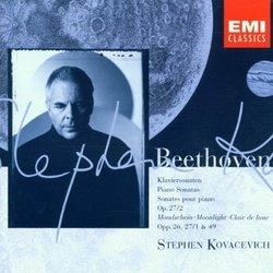 """Beethoven: Piano Sonatas Op. 27/2, """"Moonlight,"""" Opp. 26, 27/1, & 49"""