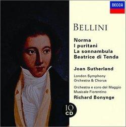 Bellini: Norma; I puritani; La sonnambula; Beatrice di Tenda [Box Set]