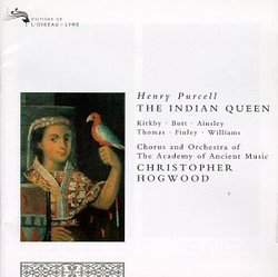 Purcell: The Indian Queen / Hogwood