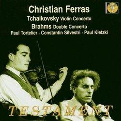 Tchaikovsky: Violin Concerto; Brahms: Double Concerto