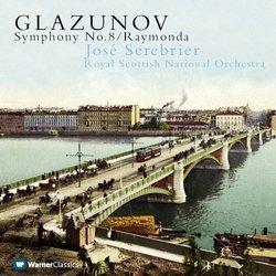 Symphony No 8 in E Flat / Op 83 / Raymonda Suite
