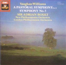 Vaughan Williams: Pastoral Symphony (Symphony No. 3); Symphony No. 5 in D