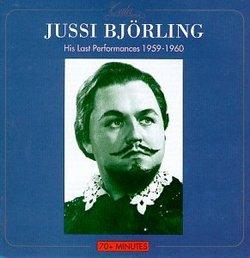 His Last Performances 1959-60