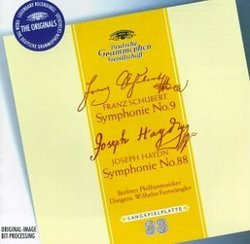 Schubert: Symphony No. 9; Haydn: Symphony No. 88 / Furtwängler
