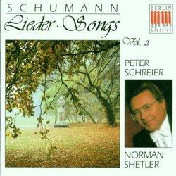 Robert Schumann: Lieder, Volume II