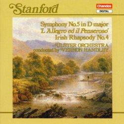 Stanford: Symphony 5 / Irish Rhapsody 4