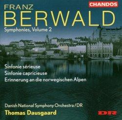 Franz Berwald: Symphonies, Vol. 2