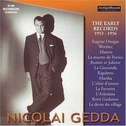 Nicolai Gedda: The Early Recordings