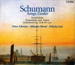 Schumann: Songs / Lieder (Box Set)