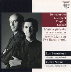 French Music on 2 Harpsichords