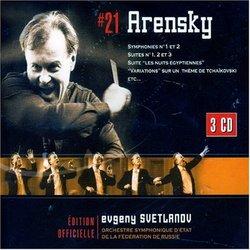 Arensky: Sym Nos 1 & 2 / Variations / Suites