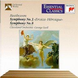 "Symphonies 3 "" Eroica "" & 8"