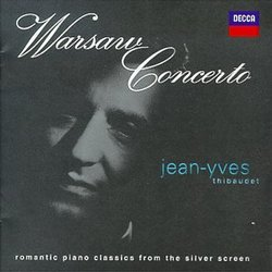 Jean-Yves Thibaudet ~ Warsaw Concerto ~ romantic piano classics from the silver screen