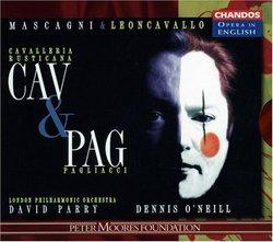 Mascagni: Cavalleria rusticana - Leoncavallo: Pagliacci / David Parry