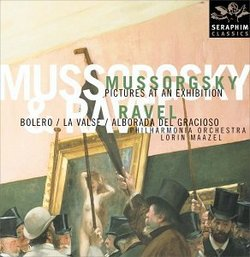 Mussorgsky: Pictures at an Exhibition; Ravel: Bolero; La Valse; Alborada del Gracioso