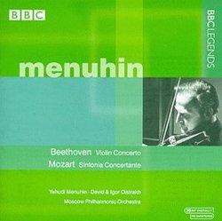 Beethoven: Violin Concerto; Mozart: Sinfonia Concertante