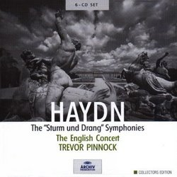 "Haydn: The ""Sturm und Drang"" Symphonies [Box Set]"