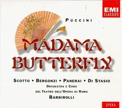 Puccini - Madama Butterfly / Scotto, Bergonzi, Panerai, Di Stasio, Opera di Roma, Barbirolli