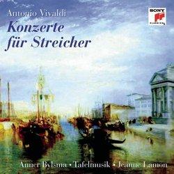 Vivaldi: Concertos for Strings - Anner Bylsma / Tafelmusik / Jeanne Lamon