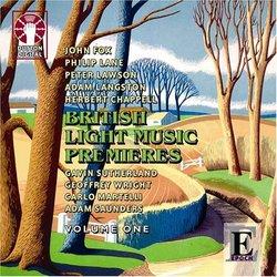British Light Music Premieres, Vol. 1