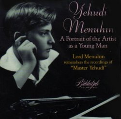 Yehudi Menuhin - Portrait of the Artist as a Young Man