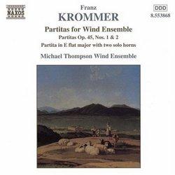 Krommer: Partitas for Wind Ensemble