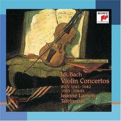Bach:  Concertos For Violin