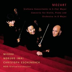 Mozart - Sinfonia Concertante · Concerto for violin, piano & orchestra / Midori · Imai · Eschenbach