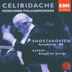 Shostokovich: Symphonies 1 & 9