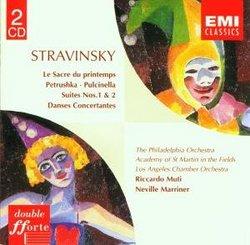 Stravinsky: Le Sacre Du Printemps, etc. (Petrushka; Pulcinella; Suites Nos. 1 & 2; Danses Concertantes)