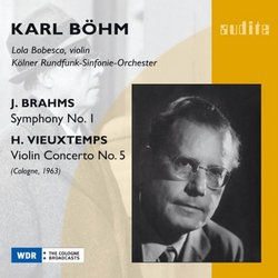 Brahms: Symphony No. 1; Vieuxtemps: Violin Concerto No. 5