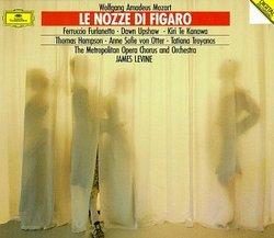 Mozart: Le nozze di Figaro / Furlanetto, Upshaw, Te Kanwa, Hampson, von Otter, Troyanos; Levine