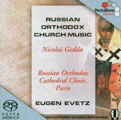 Russian Orthodox Church Music [Hybrid SACD]